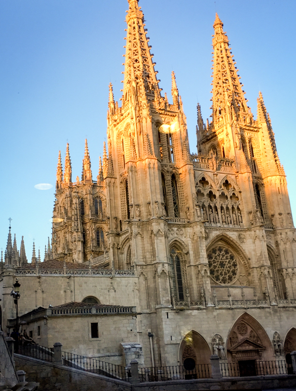 Burgos Cathedral at 9pm on eatlivetravelwrite.com