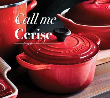 Le Creuset Call Me Cerise on eatlivetravelwrite.com