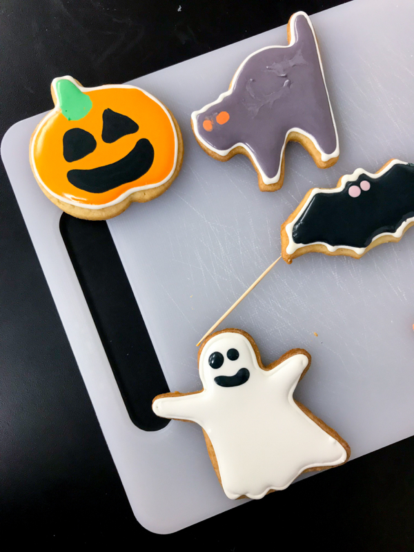 All the Halloween shape cookies with Adell Shneer on eatlivetravelwrite.com