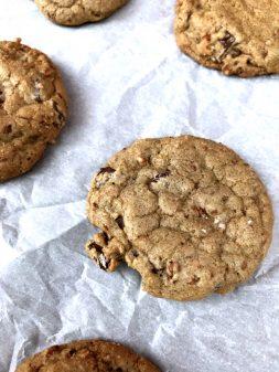 David Lebovitz Buckwheat chocolate chip cookies on eatlivetravelwrite.com