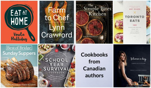 Cookbooks from Canadian authors on eatlivetravelwrite.com