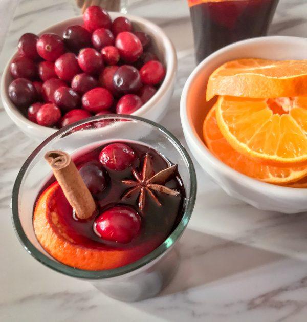 Make your mulled wine in a slow cooker on eatlivetravelwrite.com