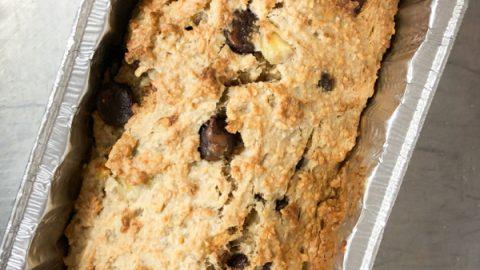 Christine Tizzard Insanely Good Banana Oat Loaf on eatlivetravelwrite.com