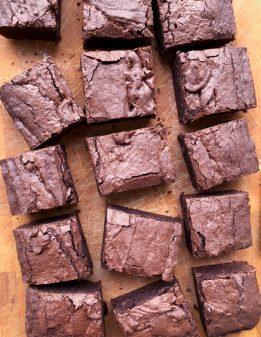 Dorie Greenspan brownies from Dories Cookies on eatlivetravelwrite.com