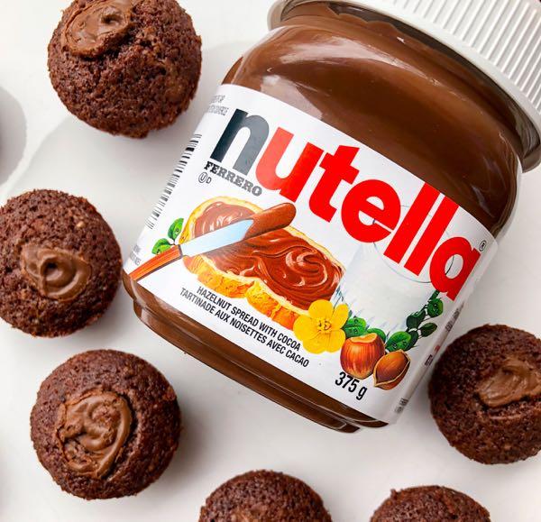 Chocolate hazelnut financier for Wolrd Nutella Day 2018 on eatlivetravelwrite.com