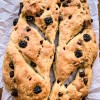 Cherry chocolate and hazelnut fougasse on eatlivetravelwrite.com