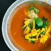 The finished dish Earls Restaurant tortilla soup on eatlivetravelwrite.com