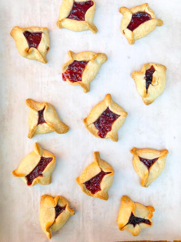 Dorie Greenspan hamantaschen from Dories Cookies on eatlivetravelwrite.com