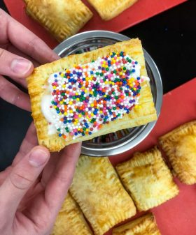 Homemade pop tarts made by kids on eatlivetravelwrite.com