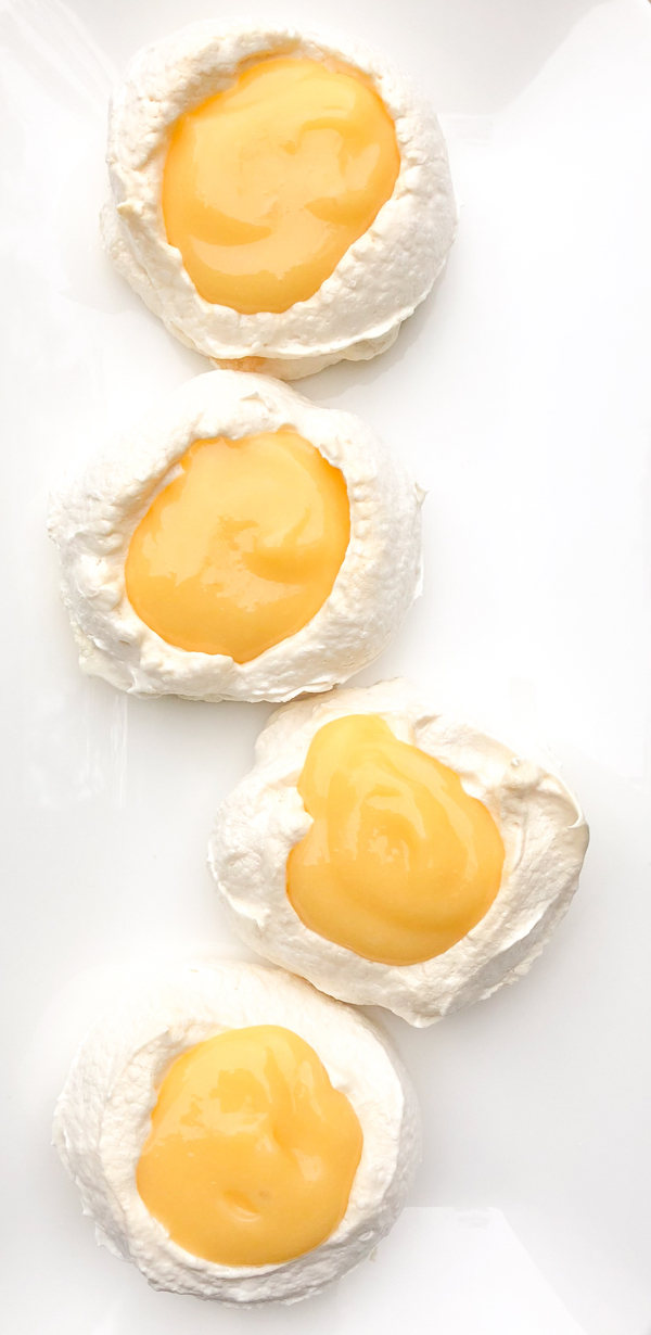 Sunny Side up Meringues from Dorie Greenspan Dories Cookies on eatlivetravelwrite.com