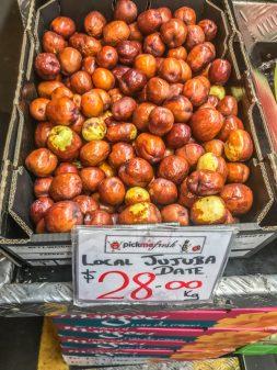 Local Jujuba Date at Adelaide Central Market on eatlivetravelwrite.com