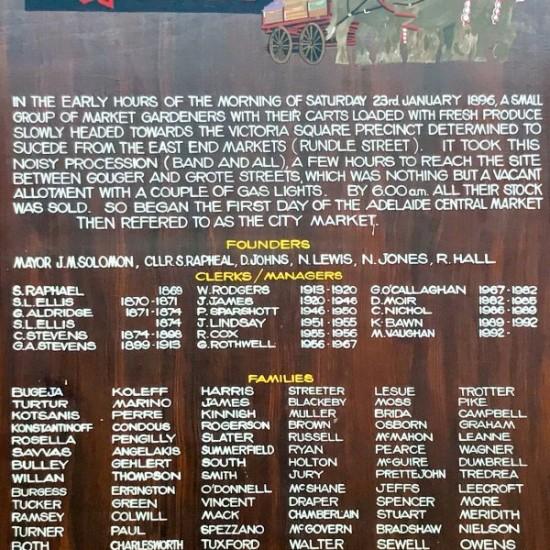 Adelaide Central Market history on eatlivetravelwrite.com