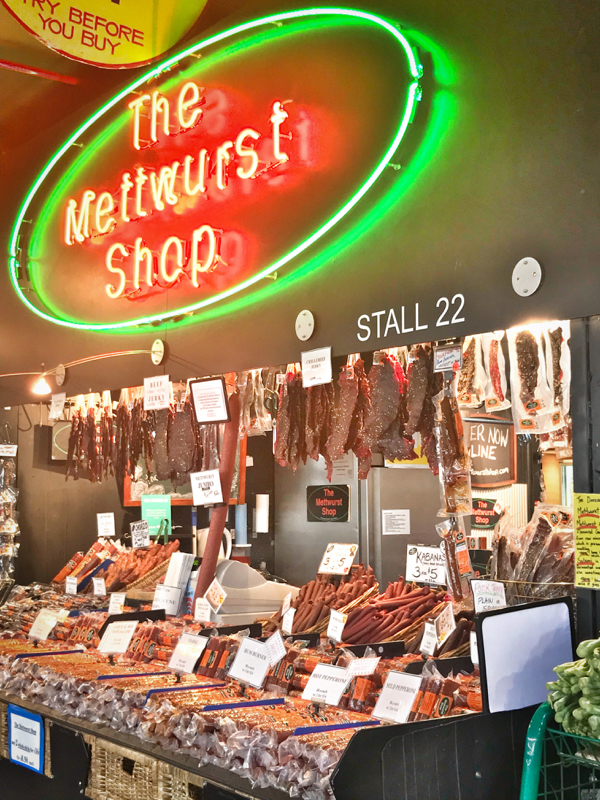 The Mettwurst Shop at Adelaide Central Market on eatlivetravelwrite.com