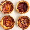 Caramelized Plum Tarts from Tasting Paris on eatlivetravelwrite.com