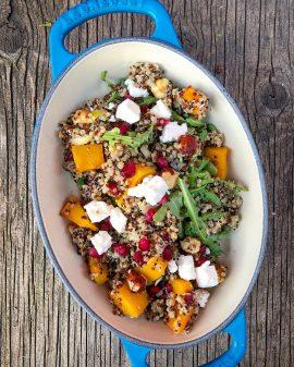 Quinoa salad from Paris Picnic Club on eatlivetravelwrite.com