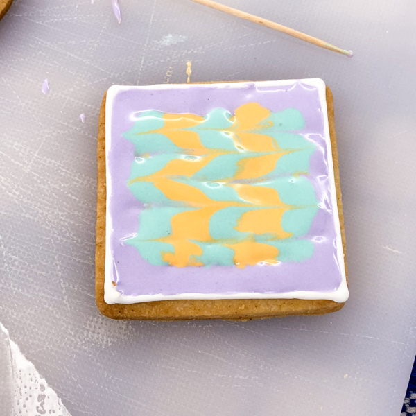 Geometric designs for decorating cookies with Adell Shneer on eatlivetravelwrite.com