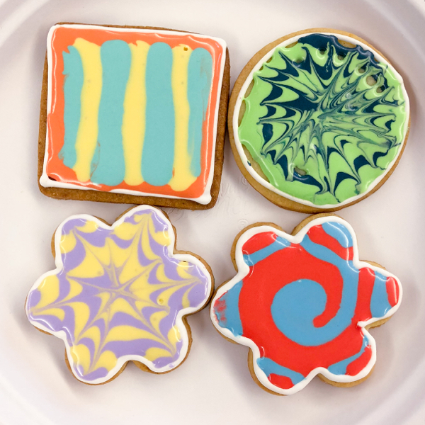 5 Kids decorating cookies with Adell Shneer on eatlivetravelwrite.com