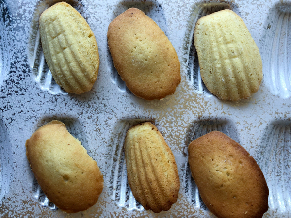 Dorie Greenspan Vanilla Brown Butter Madeleines on eatlivetravelwrite.com