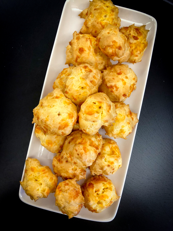 Gougeres from In the French Kitchen with Kids by Mardi Michels on eatlivetravelwrite.com