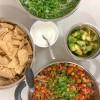 Getting ready to assmeble Jamie Oliver veggie chili on eatlivetravelwrite.com
