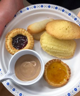 Cafe gourmand in the French kitchen with kids on eatlivetravelwrite.com