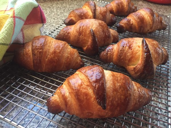 Quick croissants from In the french Kitchen with Kids on eatlivetravelwrite.com