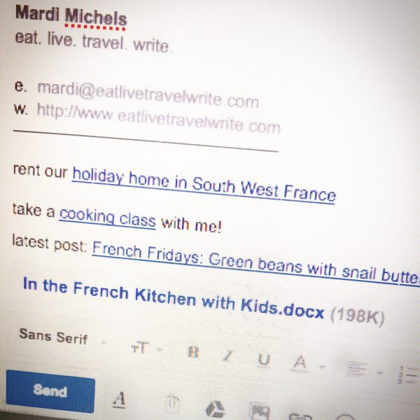 In the French kitchen with kids manuscript submitted on eatlivetravelwrite.com