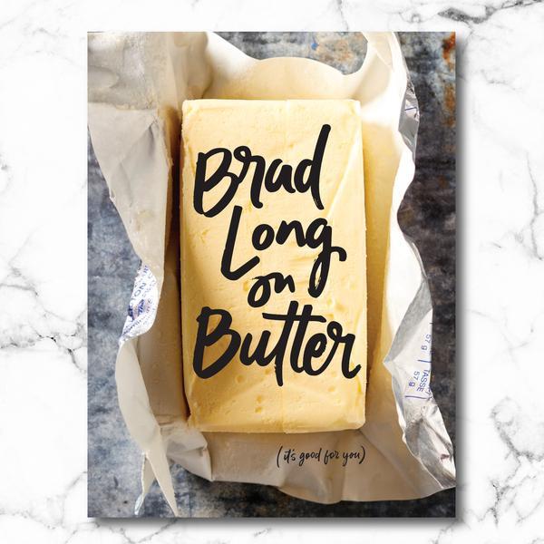 Brad Long on Butter cover on eatlivetravelwrite.com