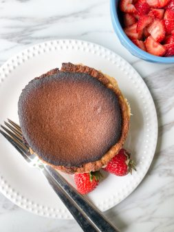 Mini version of David Lebovitz French Cheesecake on eatlivetravelwrite.com