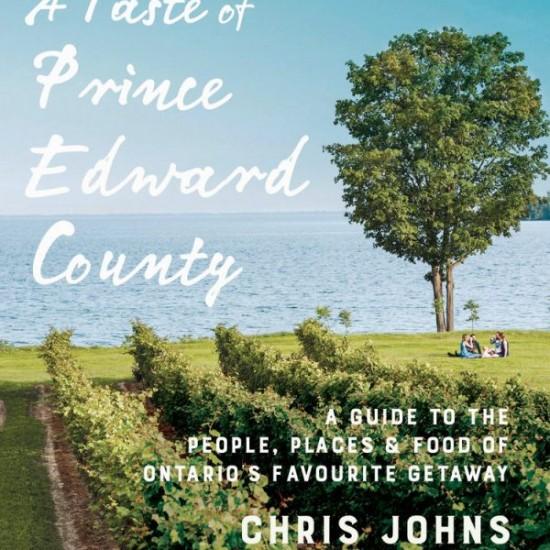 A Taste of Prince Edward County cover on eatlivetravelwrite.com