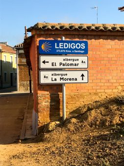 In Ledigos walking from Calzadilla de la Cueza to Sahagun on eatlivetravelwrite.com