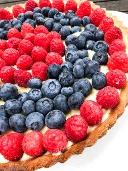 Dorie Greenspan classic fruit tart on eatlivetravelwrite.com