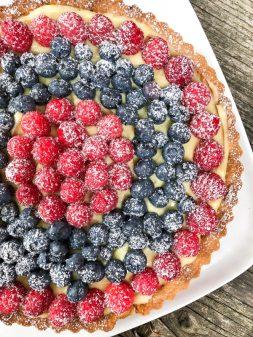 Tuesdays with Dorie Dorie Greenspan classic fruit tart on eatlivetravelwrite.com