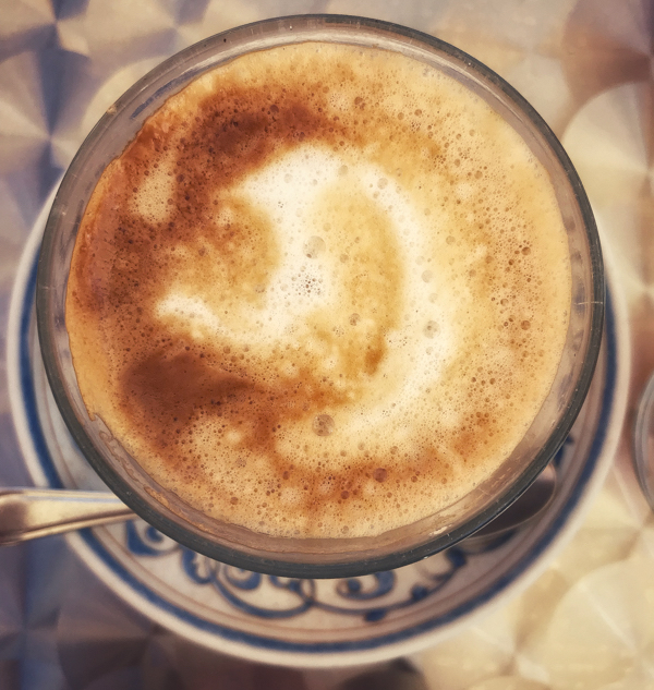 Coffee in Reliegos walking from El Burgo Ranero to Mansilla de las Mulas with Camino Travel Center on eatlivetravelwrite.com