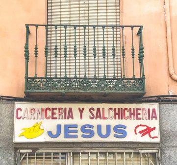 Carniceria Jesus walking from El Burgo Ranero to Mansilla de las Mulas with Camino Travel Center on eatlivetravelwrite.com