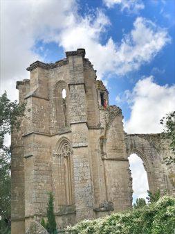 Ruins of SAn Anton convent walking from Hornillos del Camino to Catrojeriz with Camino Travel Center on eatlivetravelwrite.com