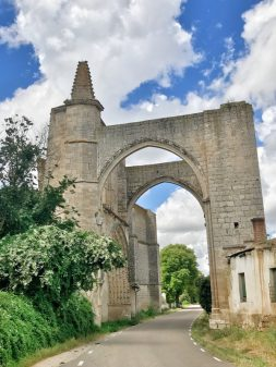 Arches of San Anton concent walking from Hornillos del Camino to Catrojeriz with Camino Travel Center on eatlivetravelwrite.com