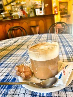 Coffee in Teradillos de los Templarios walking from Calzadilla de la Cueza to Sahagun on eatlivetravelwrite.com