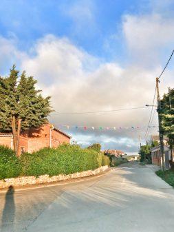 Morning in Calzadilla de la Cueza walking from Calzadilla de la Cueza to Sahagun on eatlivetravelwrite.com