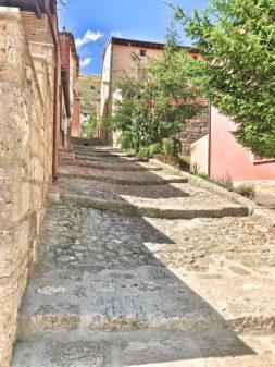 Streets of Castrojeriz walking from Hornillos del Camino to Catrojeriz with Camino Travel Center on eatlivetravelwrite.com