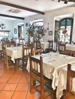 El Meson restaurant Castrojeriz walking from Hornillos del Camino to Catrojeriz with Camino Travel Center on eatlivetravelwrite.com