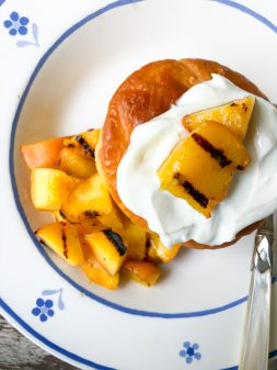 David Lebovitz Kirsch babas with pineapple from My Paris Kitchen on eatlivetravelwrite.com