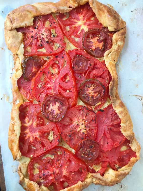 French tomato tart recipe on eatlievtravelwrite.com