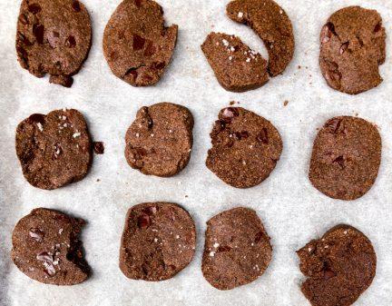 Double Chocolate Double Buckwheat Cookies on eatlivetravelwrite.com