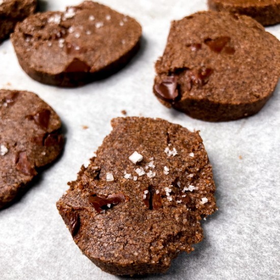 Dorie Greenspan Double Chocolate Double Buckwheat Cookies on eatlivetravelwrite.com