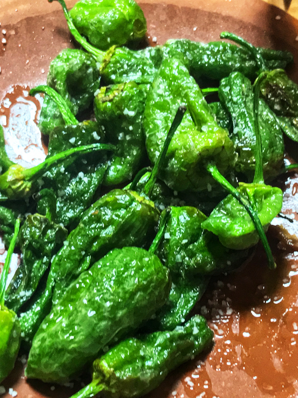 Padron Peppers on Devour Tours Tapas like a Local on eatlivetravelwrite.com