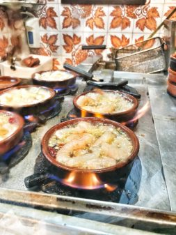 Shrimp in garlic on Devour Tours Tapas like a Local on eatlivetravelwrite.com