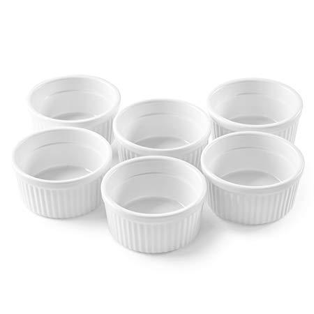 4 oz. Porcelain Ramekins, Set of 6