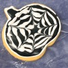 Black and White Pumpkin Coookie Halloween 2018 with Adell Shneer on eatlivetravelwrite.com
