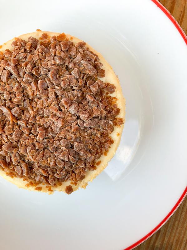 Dorie Greenspan Cheesecake Round Trip on eatlivetravelwrite.com